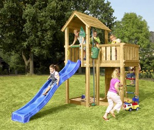 Spielturm Jungle Gym - Mansion