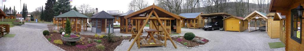 Musterhausausstellung Wolff´s Blockhaus & Gartenwelt - Bad Lauterberg / Barbis