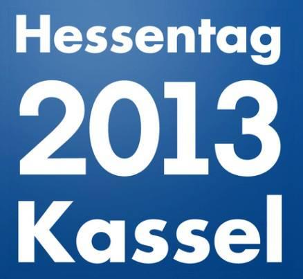 Hessentag 2013 - Aufbau Gartenhäuser - Wolffs Blockhaus und Gartenwelt