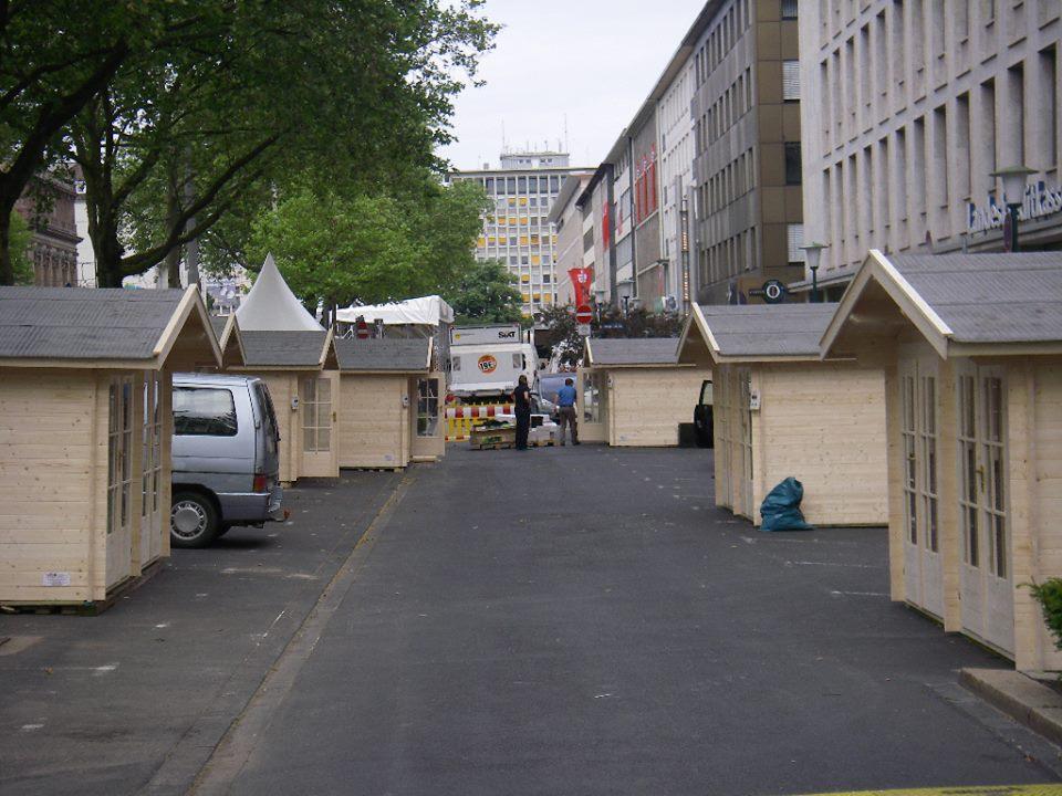 Hessentag - Wolffs Blockhaus und Gartenwelt