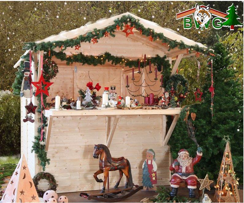 Verkaufsstand, Marktbude, Weihnachtsstand