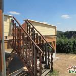 Holzterrasse-Aufgang