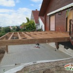 Holzterrasse-Unterkonstruktion