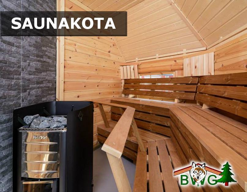 Saunakota - Wellness im eigenen Garten