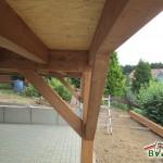 Holzterrasse-Teilansicht Unterkonstruktion