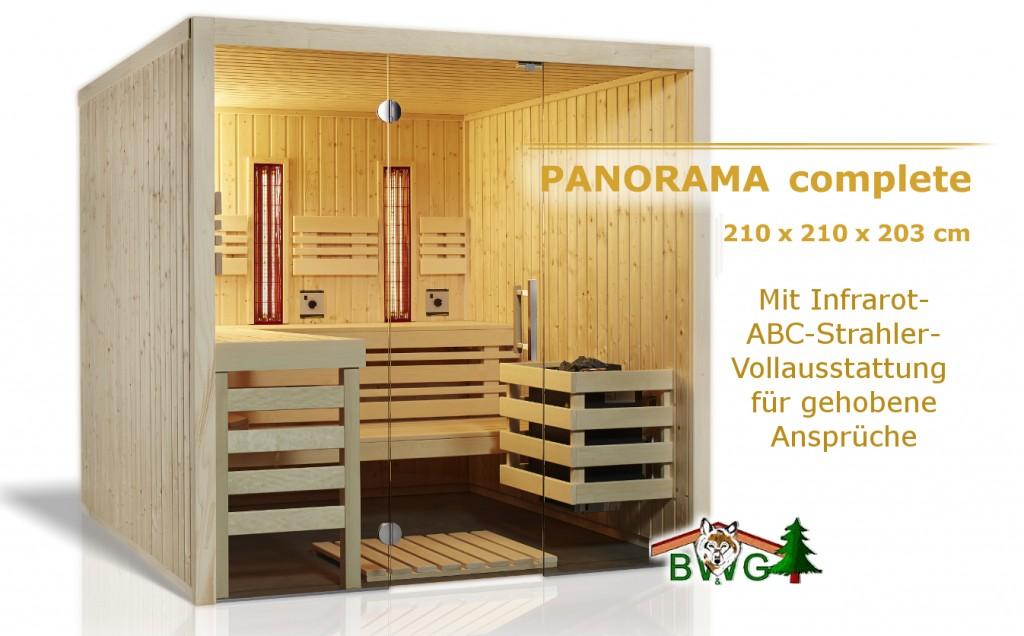 Sauna complete