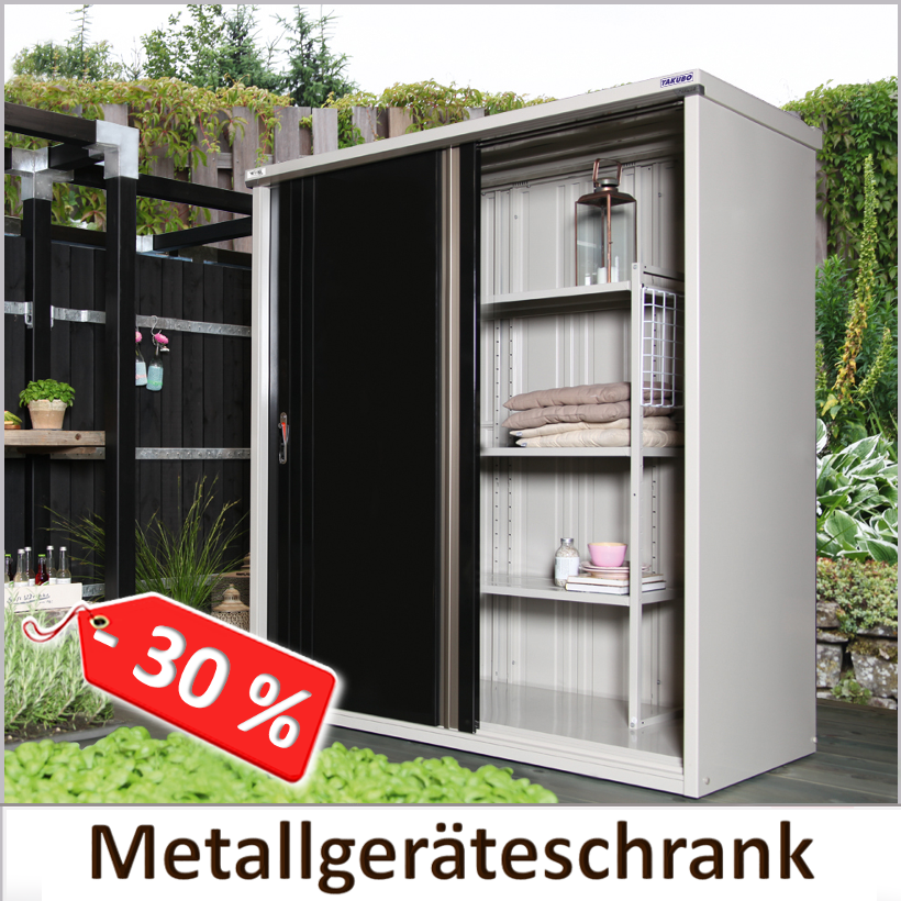 Musterhaus-Abverkauf Metallgeräteschrank