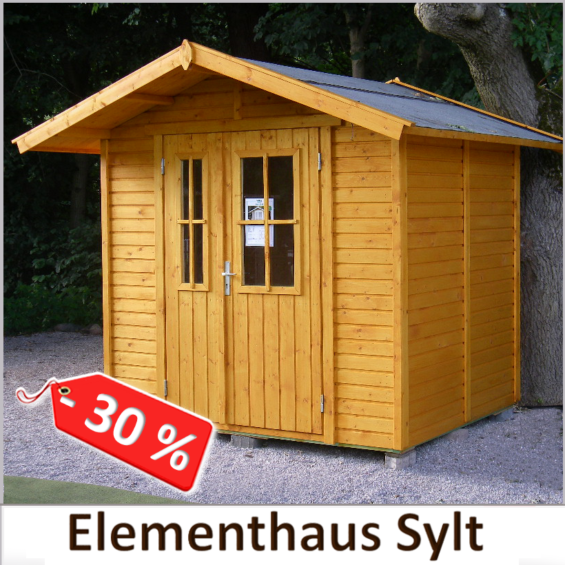 Musterhaus-Abverkauf Elementhaus Sylt