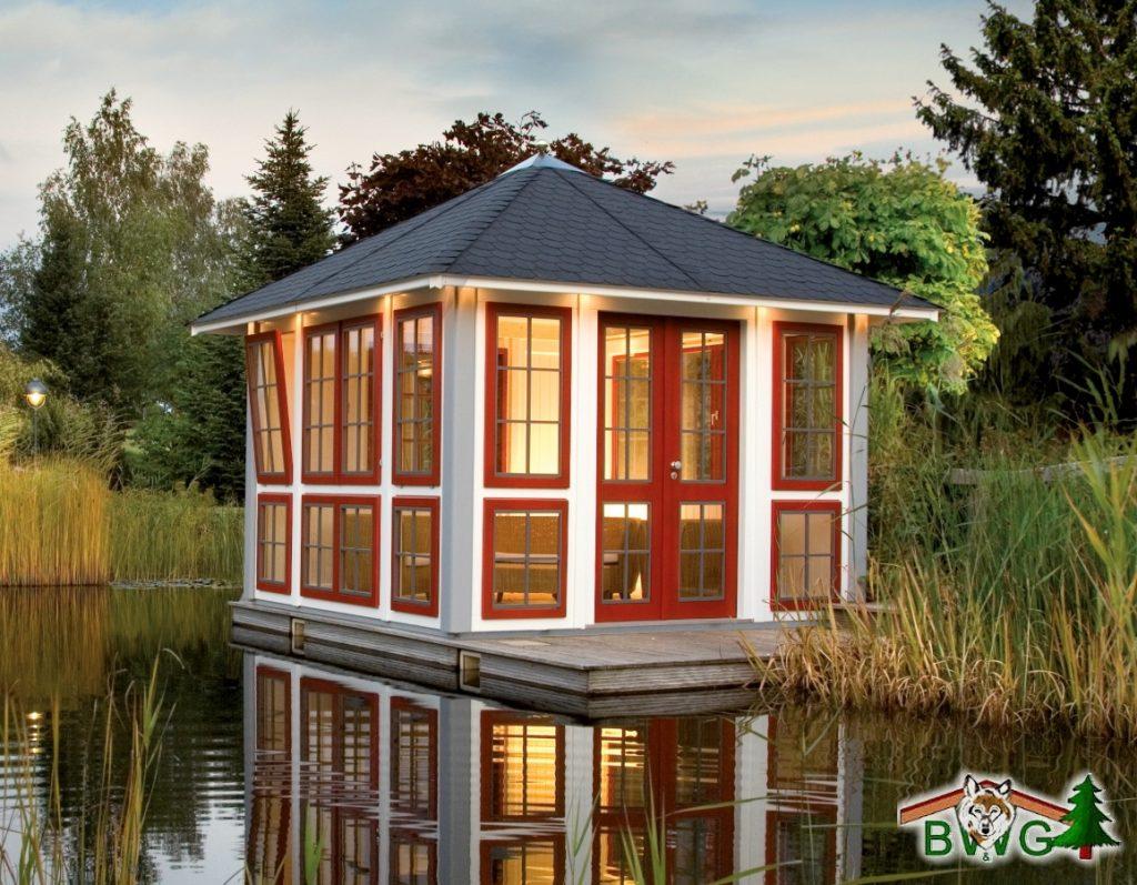 hochwertige gartenpavillons. Black Bedroom Furniture Sets. Home Design Ideas