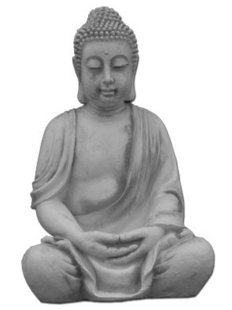 Buddha-Steinfigur