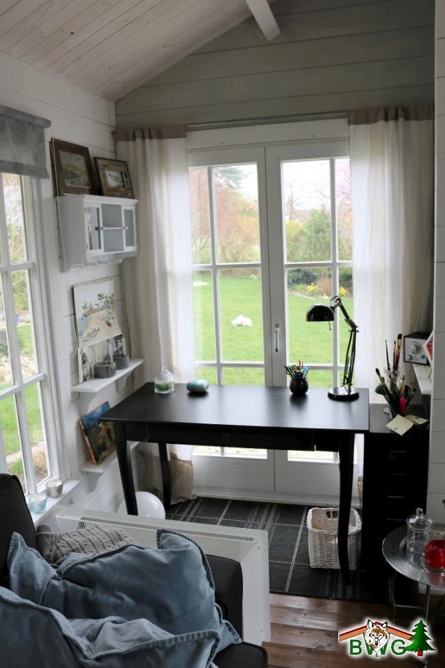 ... Gartenhaus Wolff Bh 45mm Innen2