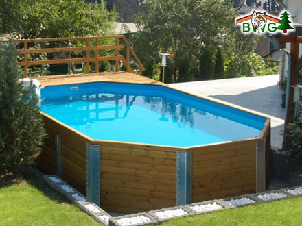 Gartenpool for Gartenpool metall
