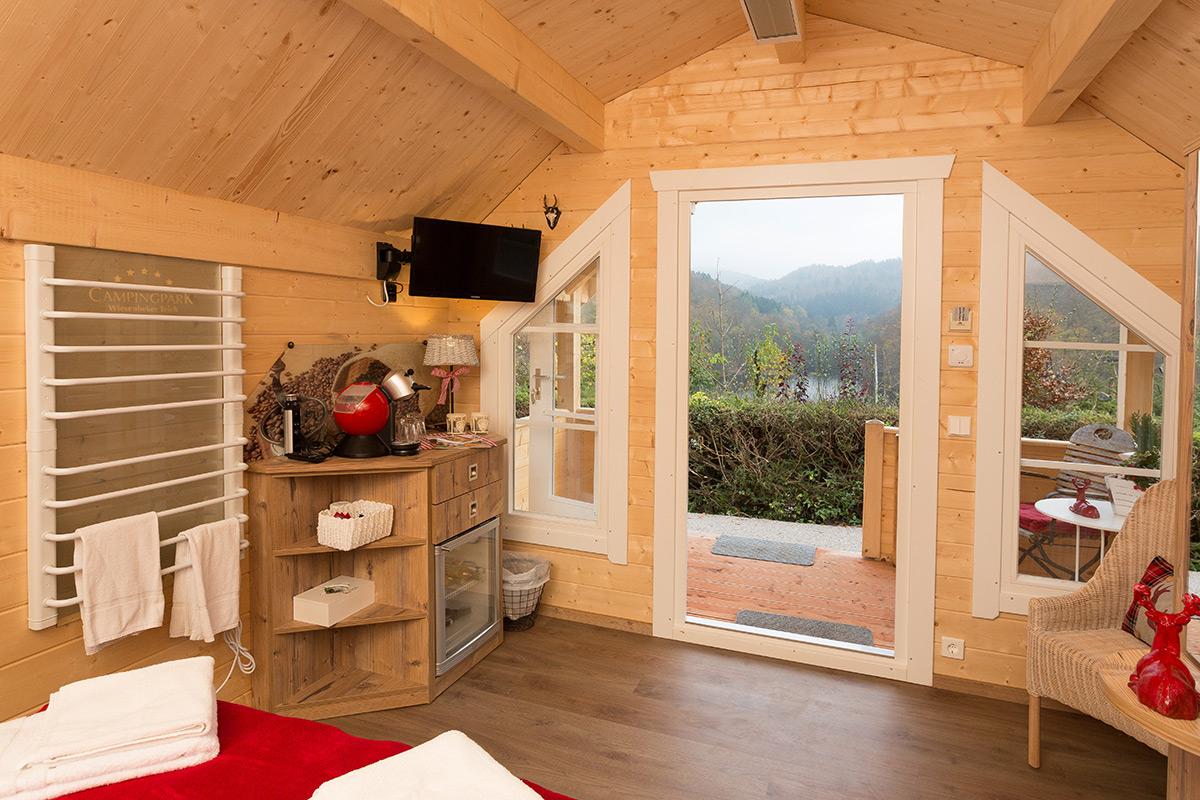 Campinghütte / Campinghaus
